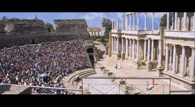 Teatro romano de m rida teatro en m rida badajoz en for Oficina de turismo de merida