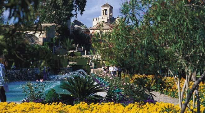 Jardines del alc zar de los reyes cristianos jardines en - Jardines cordoba ...