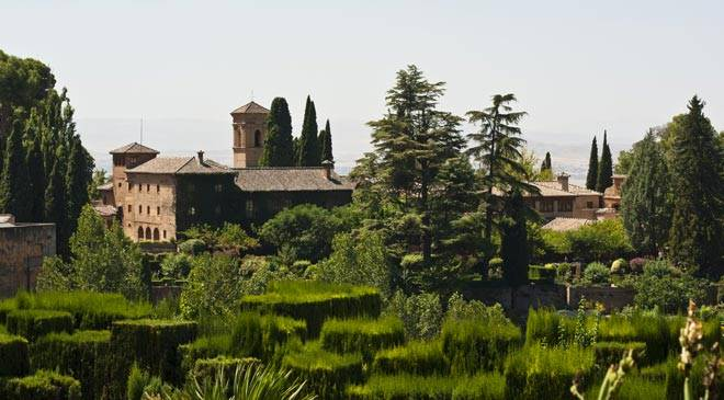 El generalife de granada jardines rabes en espa a es cultura for Jardines de arabial granada