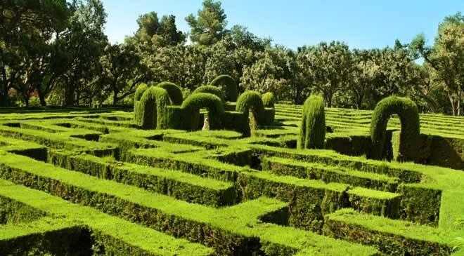 laberinto de horta jardines en barcelona en espa a es