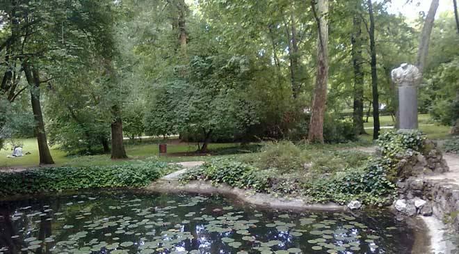 parque el capricho alameda de osuna jardines en madrid en