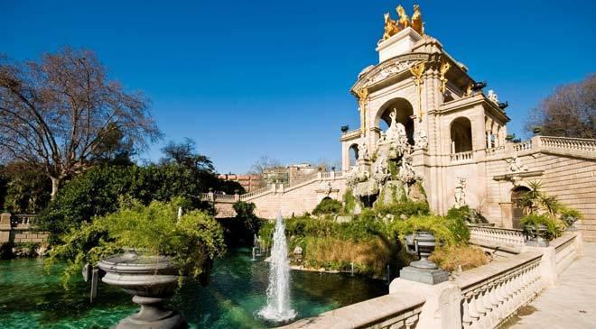 parque de la ciudadela jardines en barcelona en espa a es