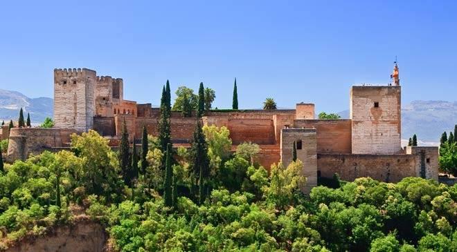 Vista general de la Alhambra
