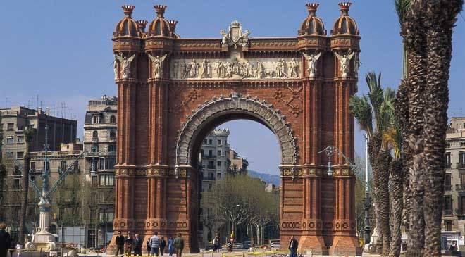 Arco De Triunfo Monumentos En Barcelona En Espa 241 A Es Cultura