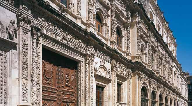 Ayuntamiento De Sevilla Monumentos En Sevilla En Espa 241 A