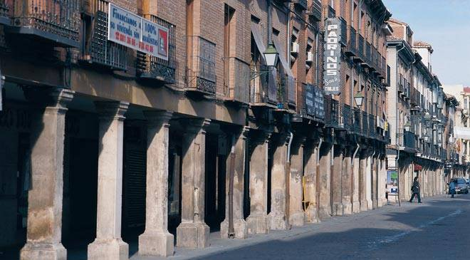 Calle mayor de alcal de henares monumentos en alcal de - Fontaneros en alcala de henares ...