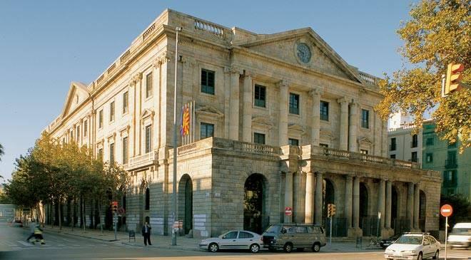 Palacio de la llotja monumentos en barcelona en espa a es - Escuela de arquitectura de barcelona ...