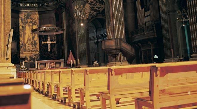 Monumentos de barcelona catedral de vic turismo cultural for Interior de la catedral de barcelona