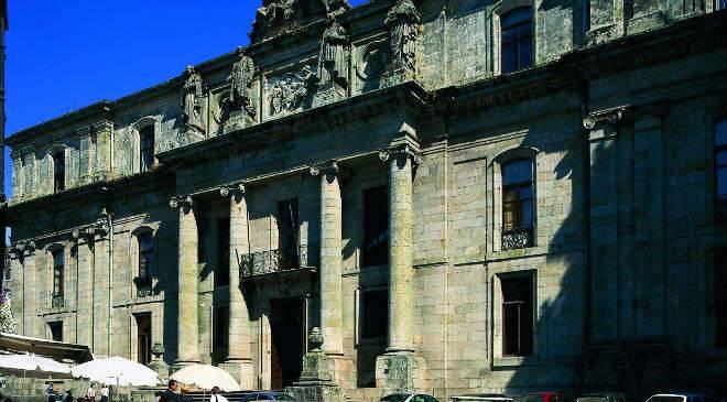 Facultad de geograf a e historia de la universidad de for Oficinas de correos en santiago de compostela