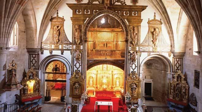 Monumentos de zamora iglesia de san pedro y san ildefonso for Catedral de zamora interior