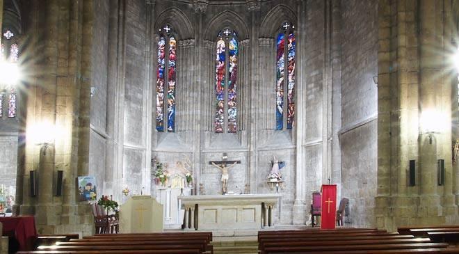 Altar de la Iglesia de Santa María la Antigua. Valladolid © Castilla y León