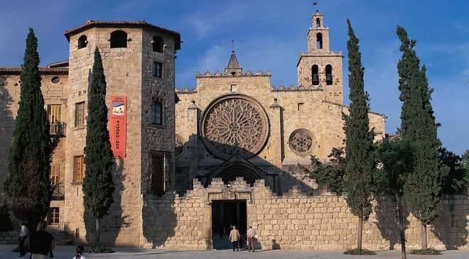 Monasterio de sant cugat del vall s monumentos en sant - Mudanzas sant cugat del valles ...