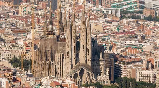 Bas lica de la sagrada familia monumentos en barcelona en for Piso sagrada familia malaga