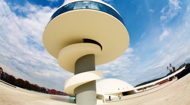 Centro niemeyer centro cultural en avil s asturias en - Arquitectos aviles ...