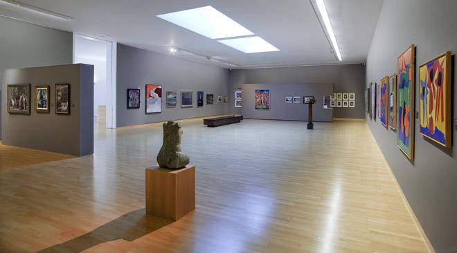 Vista de sala del Museo de Belas Artes da Coruña © Ministerio de Cultura
