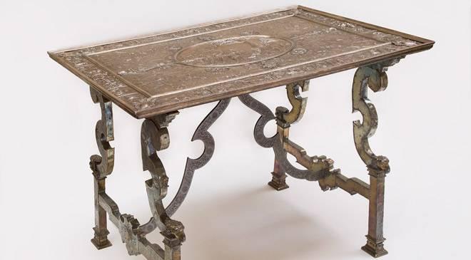 Mesa museo nacional de artes decorativas madrid en - Mesas decorativas ...