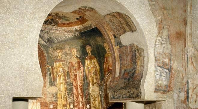 Resultado de imagen de Pinturas de Sant Quirze de Pedret