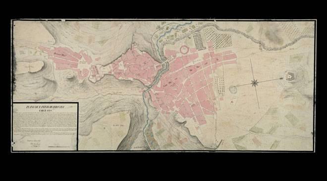 «Plano de la Ciudad de Ronda». Archivo General Militar de Madrid. Cartoteca © Ministerio de Cultura