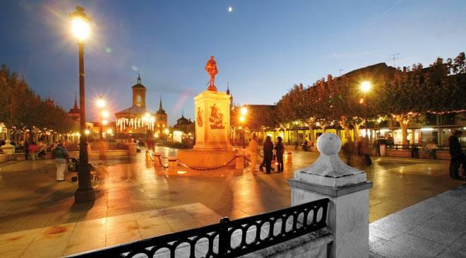 La ciudad de cervantes alcal de henares madrid en - Fontaneros en alcala de henares ...