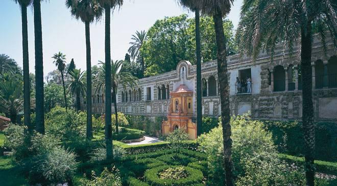 Conozca los jardines del real alc zar de sevilla en espa a for Jardines verticales sevilla
