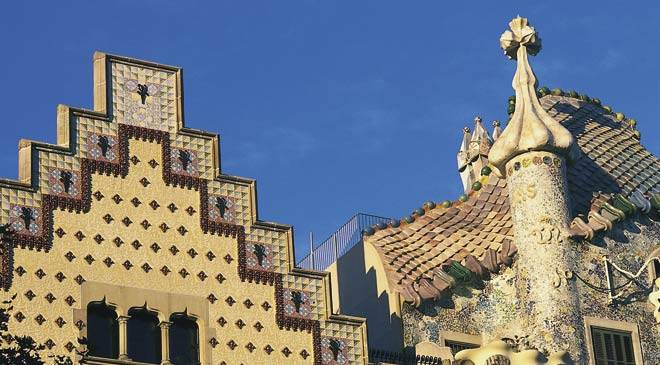 Ruta del modernismo en barcelona rutas culturales en espa a es cultura - Casas de musica en barcelona ...